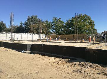 LISMAR - budowa nowych domów szeregowych w Gźnienie przy ulicy Dojazd blisko poznańskiej - parter i strop 2