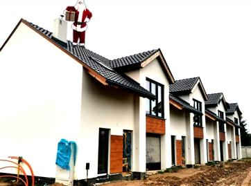 LISMAR - budowa nowych domów szeregowych w Gźnienie przy ulicy Dojazd blisko poznańskiej