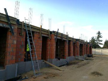 LISMAR - budowa nowych domów szeregowych w Gźnienie przy ulicy Dojazd blisko poznańskiej - parter i strop