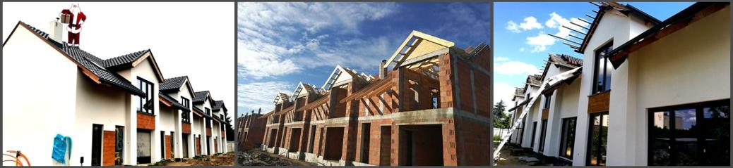 LISMAR Giezno - galeria budowy domy szeregowe w zabudowie szeregowej nowe od dewelopera